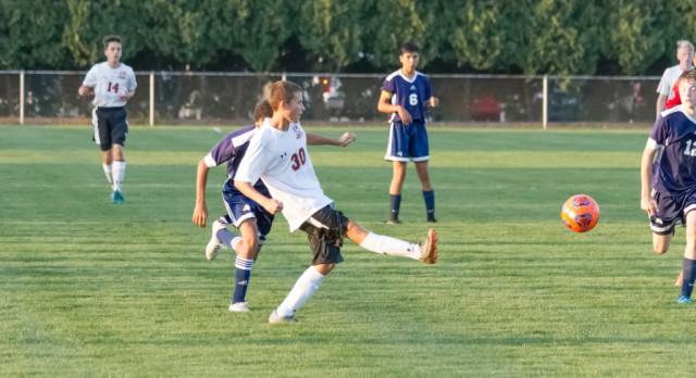 LaPorte High School Boys Varsity Soccer beat South Bend Clay High School 9-1