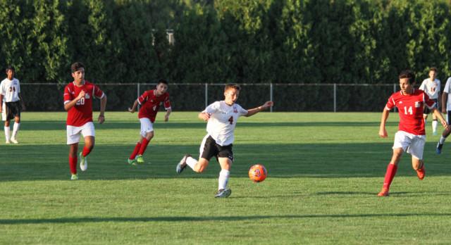 LaPorte High School Boys Varsity Soccer falls to Portage High School 4-3