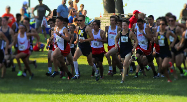 LaPorte High School Boys Varsity Cross Country 5th at Sectional