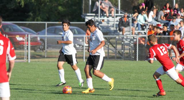 LaPorte High School Boys Varsity Soccer falls to Lake Central High School 7-1