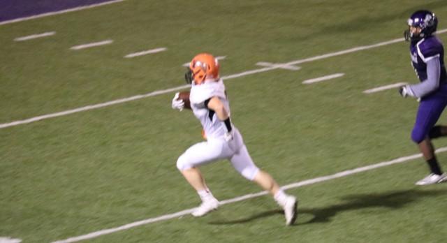 LaPorte High School Varsity Football beat Merrillville High School 42-20