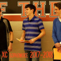 Boys Cross Country Recognition Night