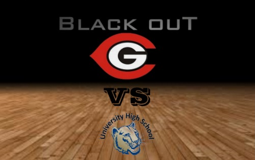 BLACKOUT THE GYM