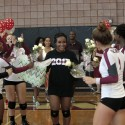 Senior Night with Varsity Volleyball