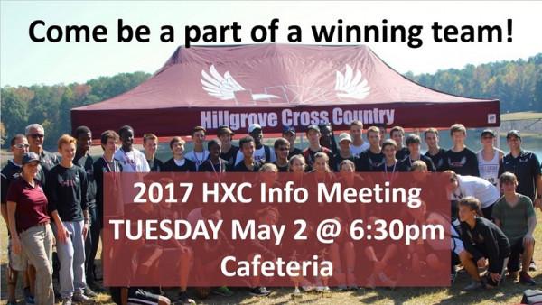 XC Info Meeting