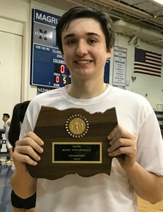 MCPS Volleyball Player of the Year – Liam Morris
