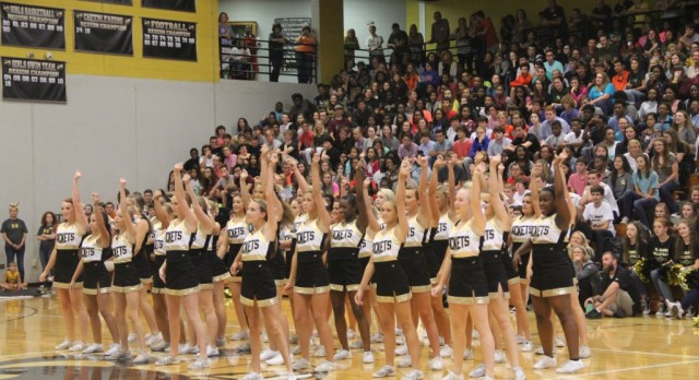 TLH Basketball Spirit Cheer Tryouts