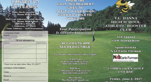 3rd Annual TLH Athletic Booster Club Golf Tournament