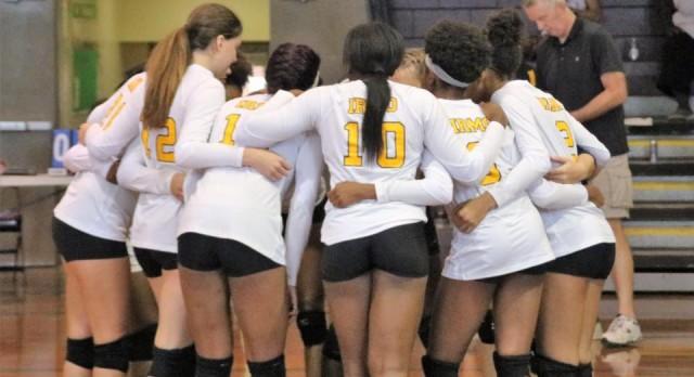 Irmo High School Girls Varsity Volleyball beat Fairfield Central High School 3-0