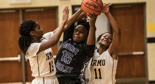 Lady Yellow Jackets rolls West Ashley 45-25 Headed into 2nd Round of Playoffs