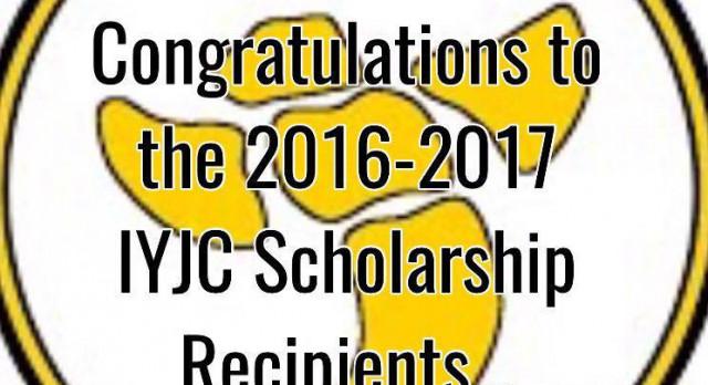 CONGRATULATIONS TO IYJC SCHOLARSHIP RECIPIENTS!!!!! Jer'Nasia Coleman,Tyler Williams,Elizabeth Mahoney, and Hayden Spencer
