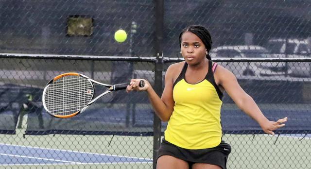 Irmo High School Girls Varsity Tennis falls to Brookland-Cayce High School 5-1