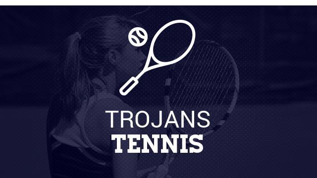 Trojan Girls Varsity Tennis beat Ludington 5-3