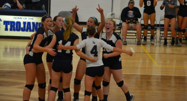 Volleyball Shares OK Black Conference Championship!