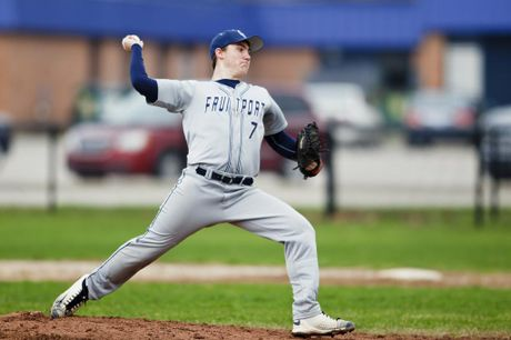 Fruitport High School Varsity Baseball beat Muskegon Catholic Central High School in 5-4 Thriller