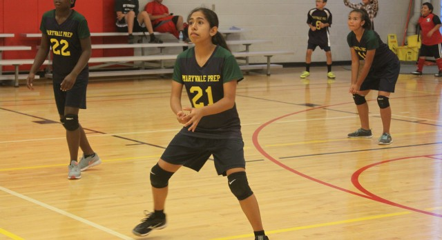Maryvale Preparatory Academy Girls Middle School Volleyball beat Cicero Preparatory Academy 2-0