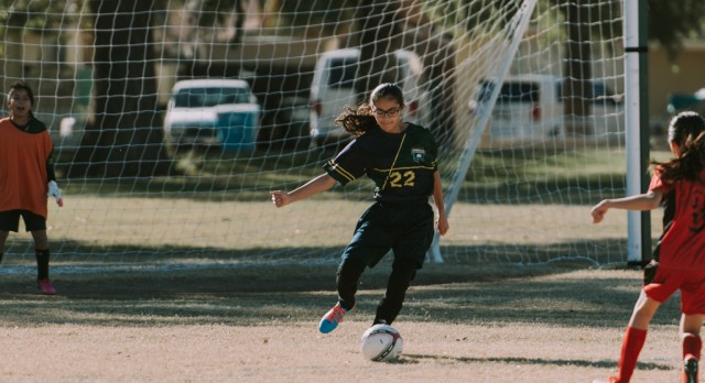 Maryvale Preparatory Academy Girls Middle School Soccer beat Lincoln Preparatory Academy 2-0