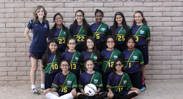 Maryvale Preparatory Academy Girls Middle School Soccer falls to TBA 2-0