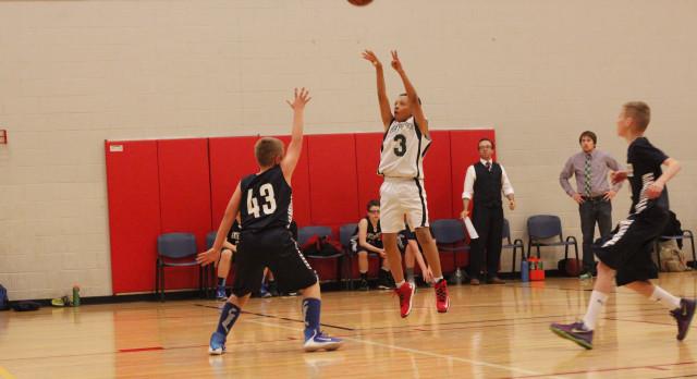 Maryvale Preparatory Academy Boys Middle School Basketball beat Anthem 39-18