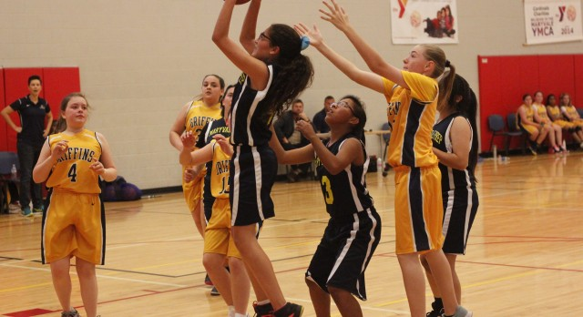 Maryvale Preparatory Academy Girls Middle School Basketball beat Glendale Preparatory Academy 34-9