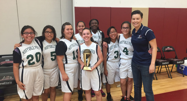 Maryvale Preparatory Academy Girls Middle School Basketball Win the CHAMPIONSHIP!