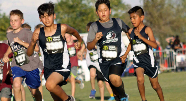 MVA Cross Country competes in state wide Desert Twilight Meet