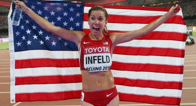 Emily Infeld '08 Running in World Championships on Saturday