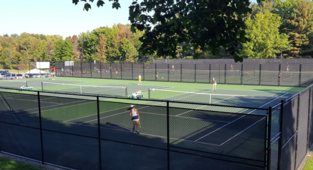 Tennis Team Takes Second at NCL White Division Tournament