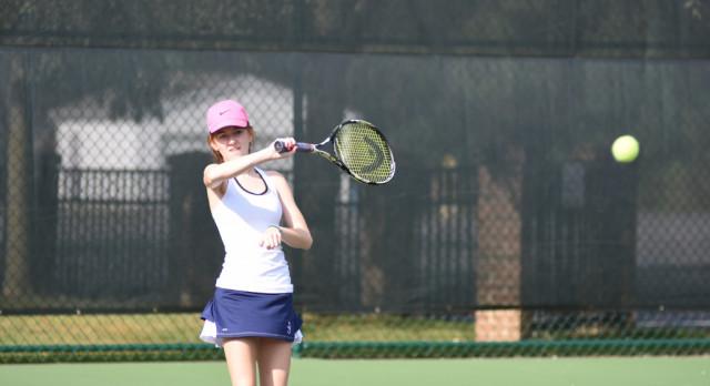 Tennis Team Sweeps Andrews Osborne Academy