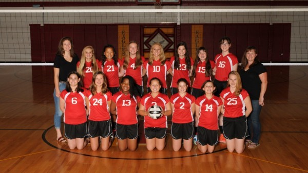 2016 Middle School Volleyball
