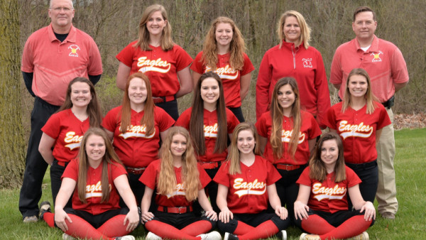 2017 Varsity Softball Team Picture