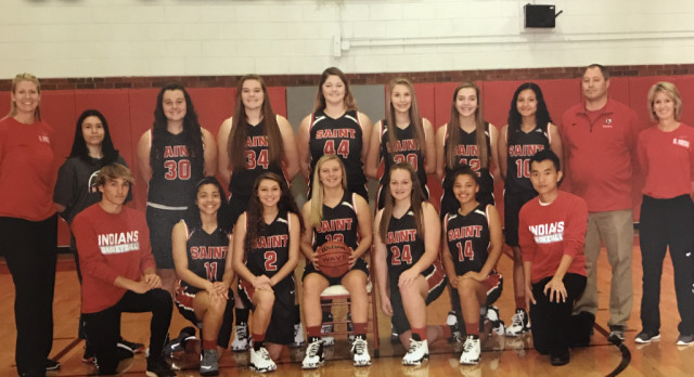 Girls Varsity Basketball in the 1st Round of State Playoffs