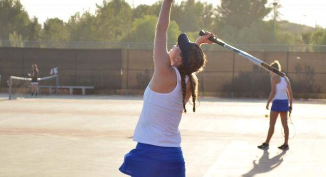 West Hills High School Girls Varsity Tennis beat El Capitan High School 12-6
