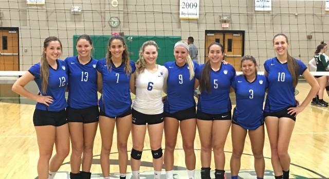 West Hills High School Girls Varsity Volleyball beat Coronado High School 3-0