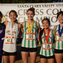 Los Gatos Girls Varsity Viveca Pannell (9th Grader) Finished 4th in DAL Finals