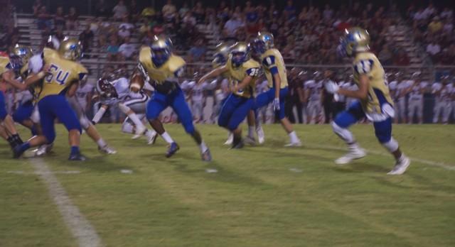 Wilson Central High School Varsity Football beat Station Camp High School 45-7