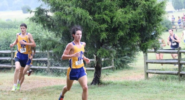 Wilson Central High School Boys Varsity Cross Country finishes 1st place