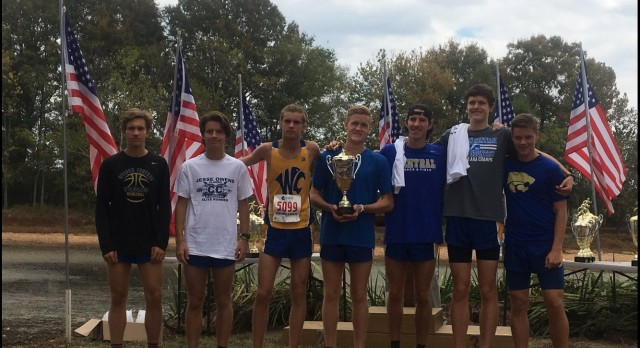 Wilson Central High School Boys Varsity Cross Country finishes 2nd place