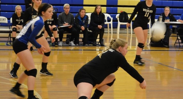Clock strikes Midnight as Girls Volleyball falls to Brentwood High 3-0 in TSSAA Substate.