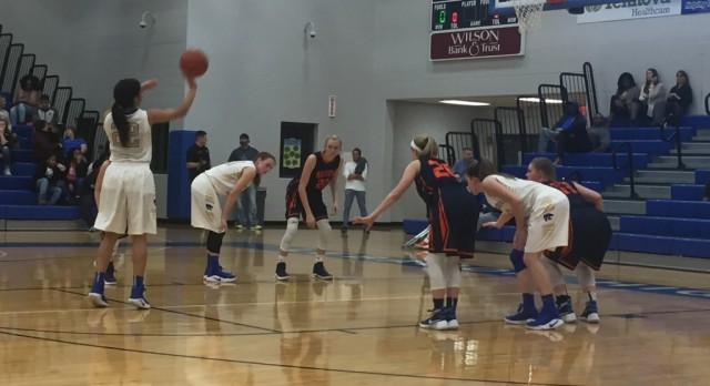 District 9AAA Championship— Monday night— Lady Wildcats vs Lady Bears—-again