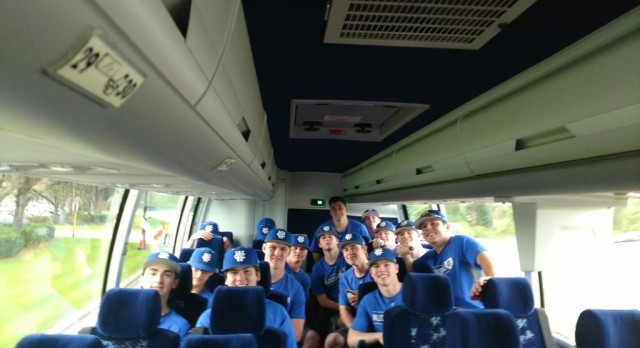 Baseball- Wildcats arrive at Disney  Win first two games 6-0 and 4-1.