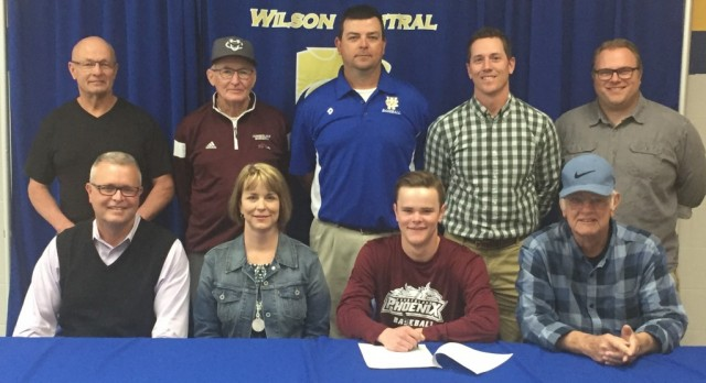 Wildcat Baseball player Mason Mobley signs with Cumberland University