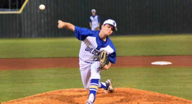 Baseball–Wildcats take Beech 2-1 as Ryan Hill throws complete game.