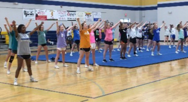 Cheerleaders–Selection of 2017-18 Squad Announced