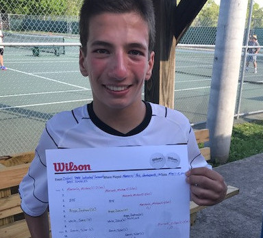 Tennis–Boys and Girls—Micheal Mercante Claims Individual District 9AAA Championship Crown, first for WCHS since Tyler Pullen in 2003.