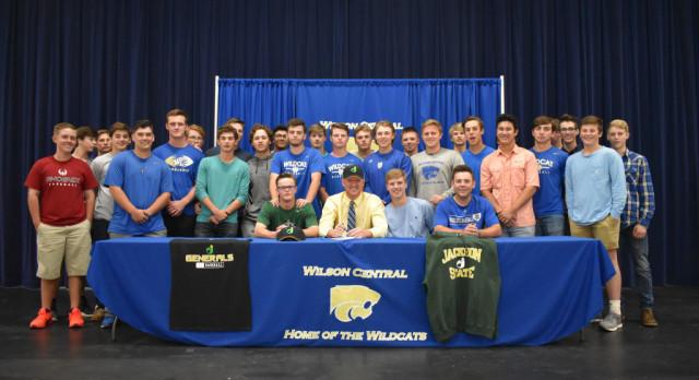 Baseball—Wildcat 1st Baseman Dawson Hamilton signs with Jackson State