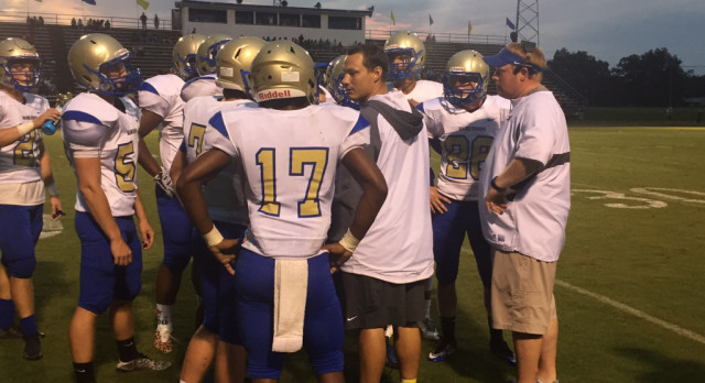 Football:  Wildcats score late touchdown to take Jamboree Victory from Shelbyville