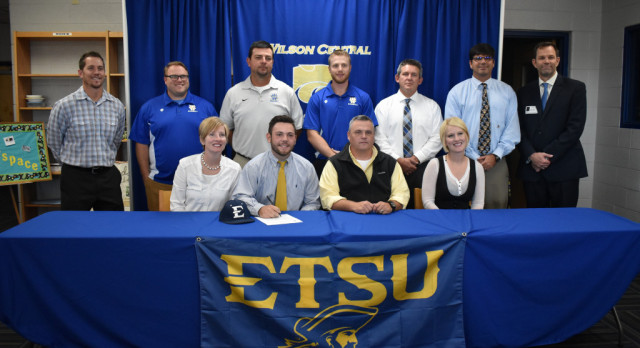 Baseball–Infielder Ethan Shelton signs with East Tennessee State University