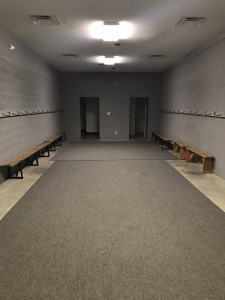 Visitor Locker Room