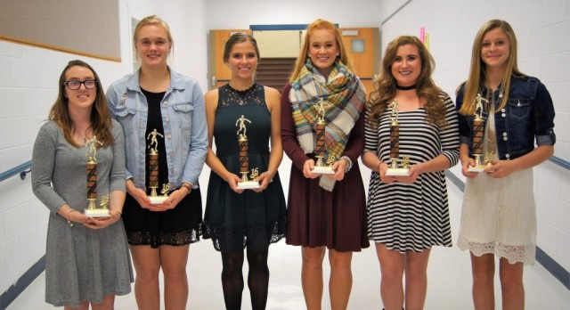Girls' Soccer: 4th Year Letter Trophy